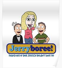 Jerryboree - Jerry Daycare inspired by Rick and Morty Poster