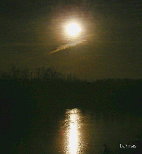 Moon Set by barnsis