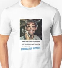 Produce For Victory -- World War 2 Unisex T-Shirt