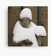 Snow Fashion Canvas Print