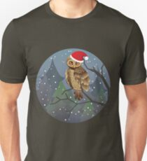 Cute Christmas Owl T-Shirt