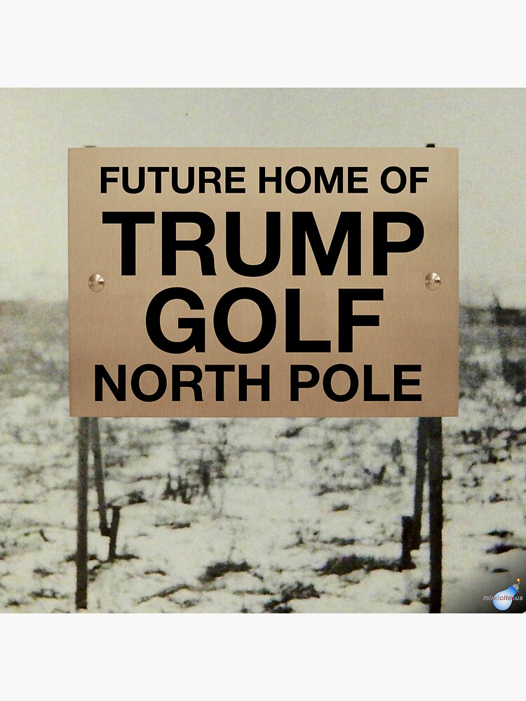 North Pole golf  by Mindcite
