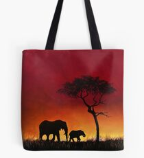 Sunset Stroll! Tote Bag