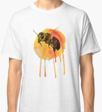 Honey bee watercolour Classic T-Shirt