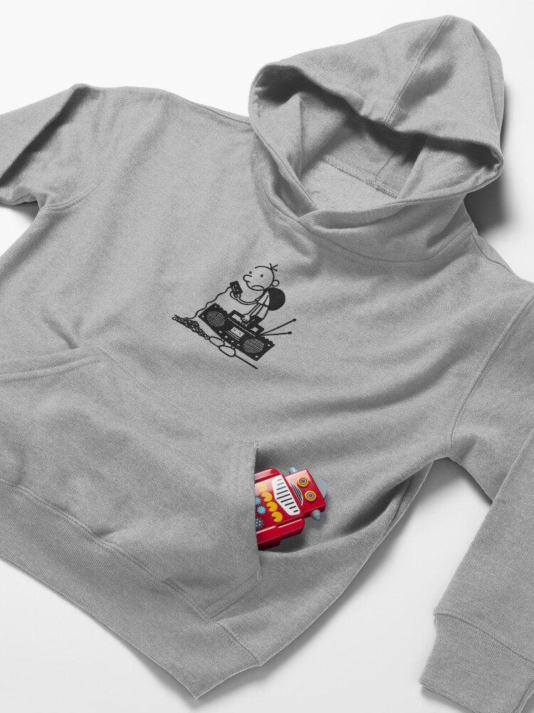 Alternate view of Diary of a wimpy kid  Kids Pullover Hoodie