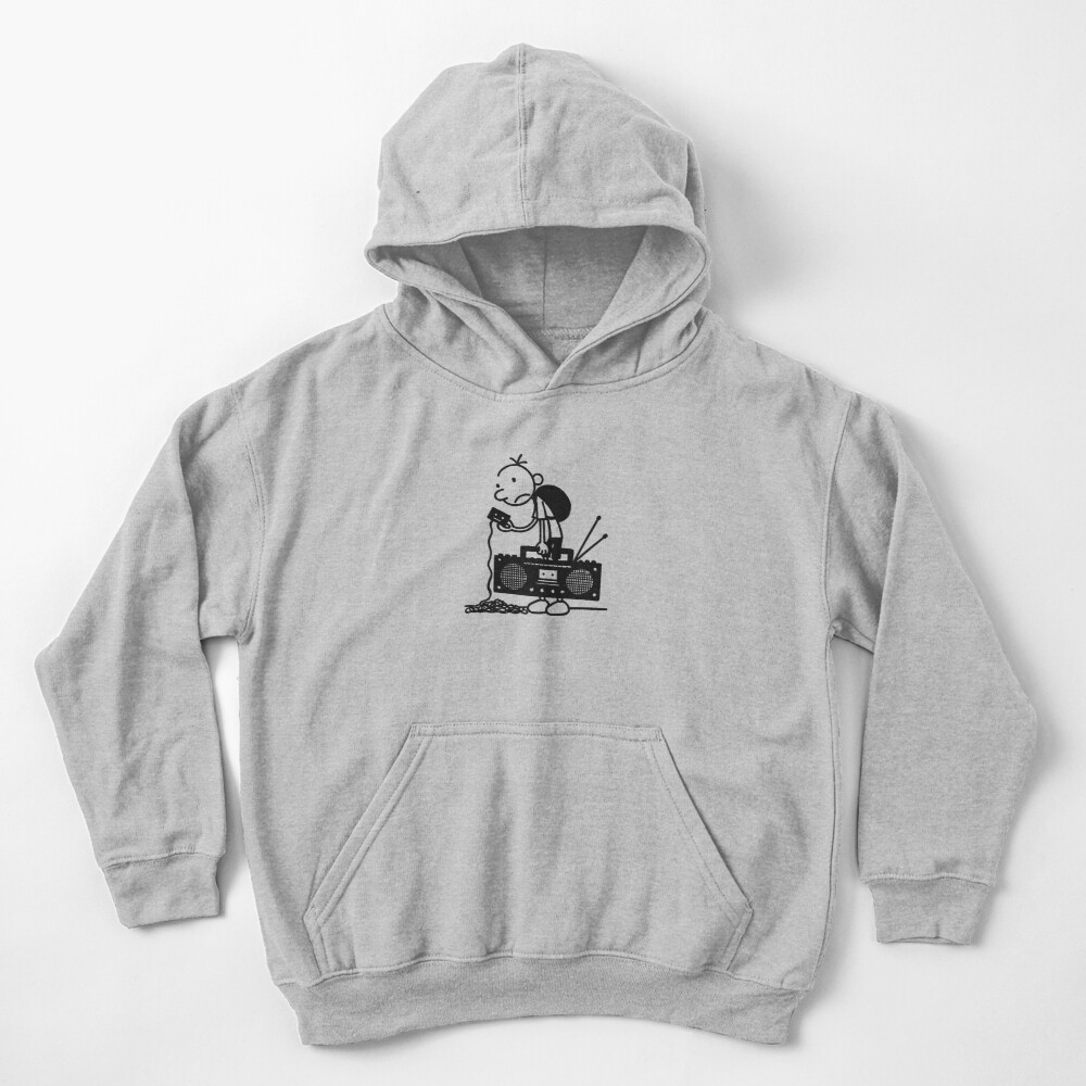 Diary of a wimpy kid  Kids Pullover Hoodie