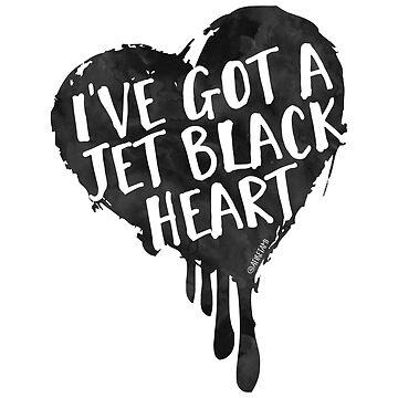 Jet Black Heart by afiretami
