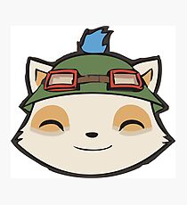 Captain Teemo on duty Photographic Print