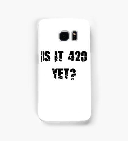 Funny Marijuana 4:20 Samsung Galaxy Case/Skin