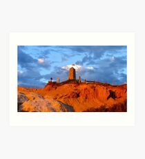 Sunlite cliffs..... Art Print