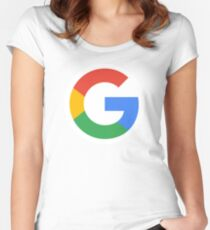 Google G Women's Fitted Scoop T-Shirt