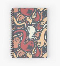 Ghosts Everywhere! Spiral Notebook