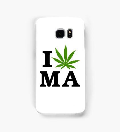 I Marijuana Massachusetts Samsung Galaxy Case/Skin