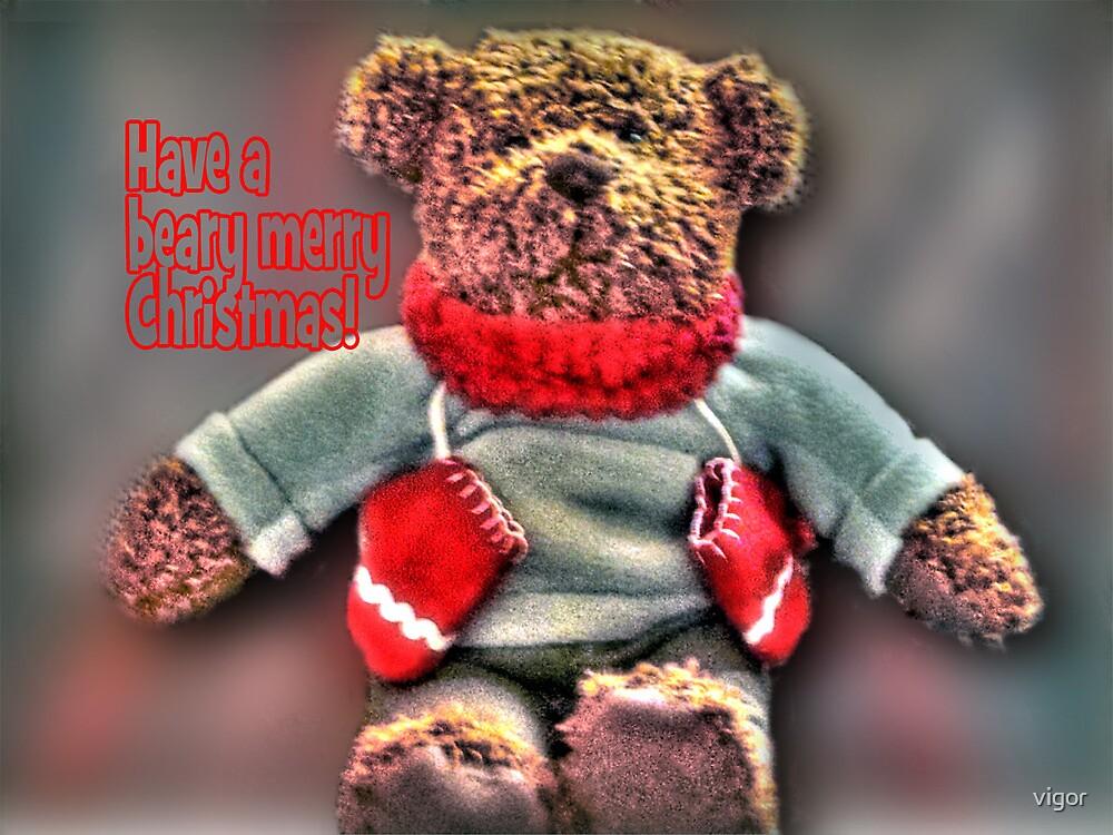 Beary Merrry Christmas by vigor