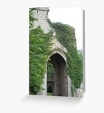 Vine and Stone Greeting Card