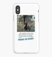 Produce For Victory! WW2 iPhone Case