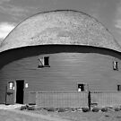 Route 66 - Round Barn by Frank Romeo