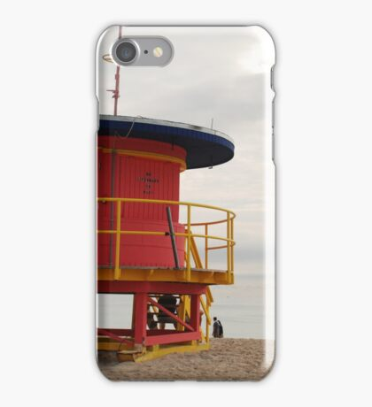 no lifeguard on duty iPhone Case/Skin
