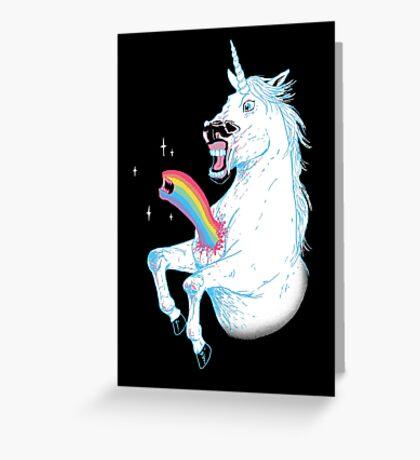 Rainbowburster Greeting Card