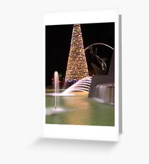 Victoria Square Adelaide Greeting Card