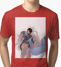 Edi and Joker Kiss Tri-blend T-Shirt