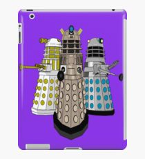 Evolution Of The Daleks iPad Case/Skin