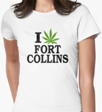 I Love Marijuana Fort Collins Colorado T-Shirt