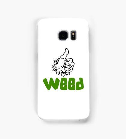 I Love Weed Samsung Galaxy Case/Skin