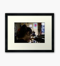 Barista! Framed Print