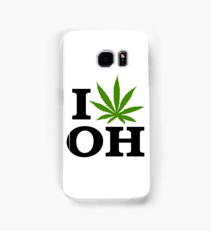 I Love Ohio Marijuana Cannabis Weed  Samsung Galaxy Case/Skin