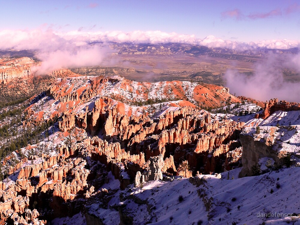 Bryce Canyon view by dandefensor