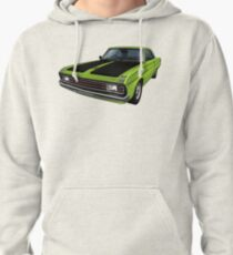 Chrysler Valiant VG Pacer Coupe - Green Go Pullover Hoodie