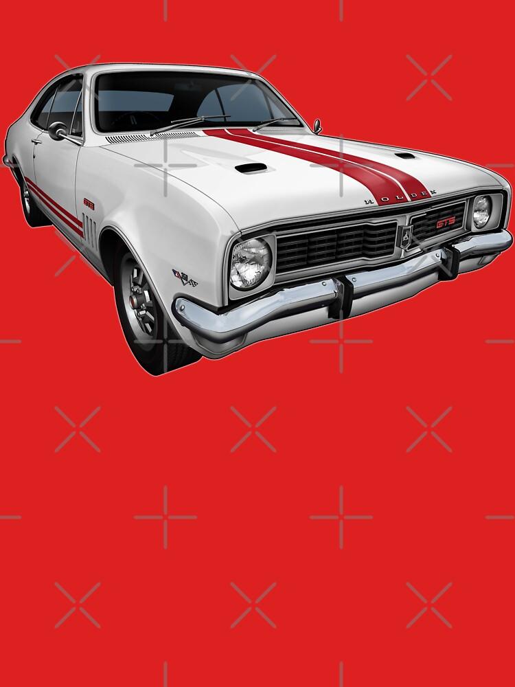 Australian Muscle Car - HT Monaro by tshirtgarage