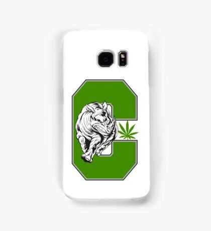 White Rhino Marijuana Samsung Galaxy Case/Skin