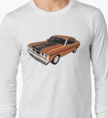 Ford Falcon XY GT - Nugget Gold Long Sleeve T-Shirt