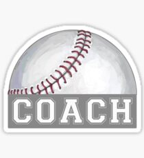 Baseball Coach Sticker
