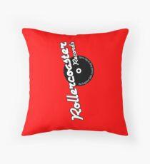 Rollercoaster Records Kilkenny Throw Pillow