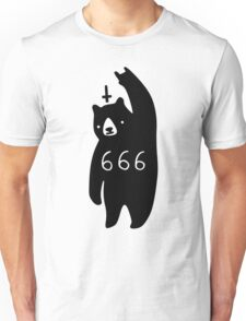 Black Bear Metal Unisex T-Shirt
