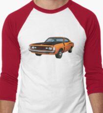 Chrysler Valiant VH Charger - Orange Men's Baseball ¾ T-Shirt