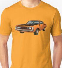 Chrysler Valiant VH Charger - Orange T-Shirt