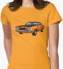 Chrysler Valiant VH Charger - Orange Women's Fitted T-Shirt