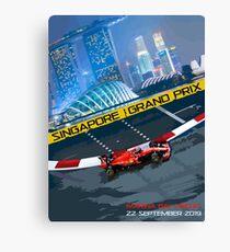 Singapore Grand Prix 2019 Canvas Print