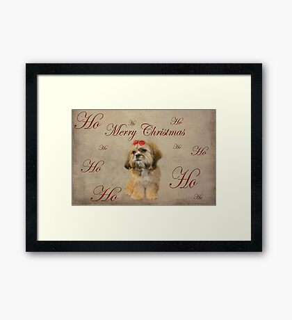 Ho, Ho, Ho..... Framed Print