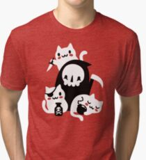Deaths Little Helpers Tri-blend T-Shirt
