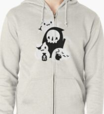 Deaths Little Helpers Zipped Hoodie