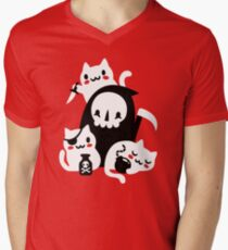 Deaths Little Helpers Men's V-Neck T-Shirt