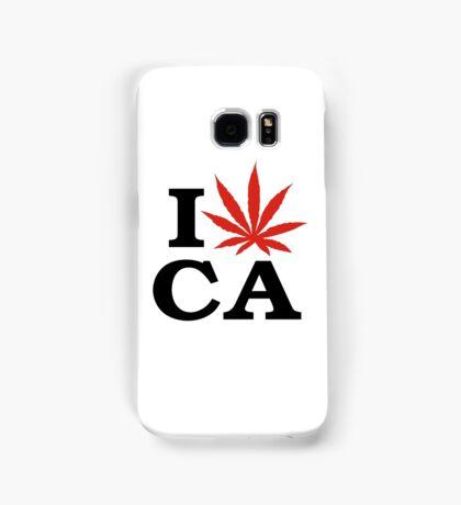 I Love Marijuana Canada Samsung Galaxy Case/Skin
