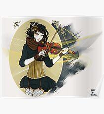 Violin Enamor Poster
