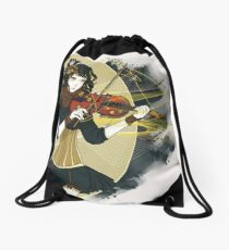 Violin Enamor Drawstring Bag