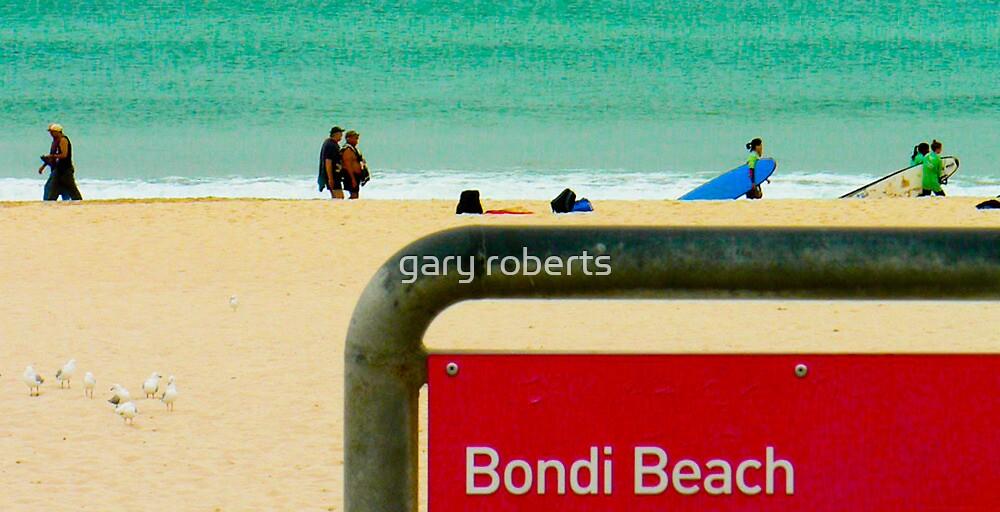 bondi beach, sydney, australia - anthony sarow  by gary roberts
